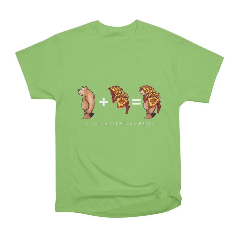 Red Bear Men's Heavyweight T-Shirt by Norman Wilkerson Designs