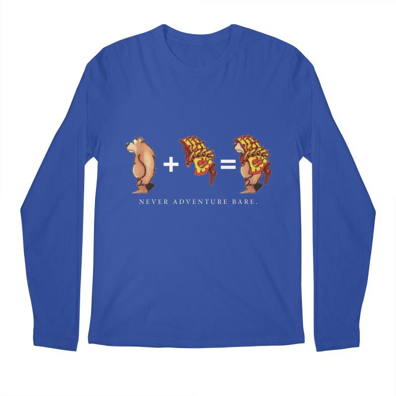 Red Bear Men's Regular Longsleeve T-Shirt by Norman Wilkerson Designs