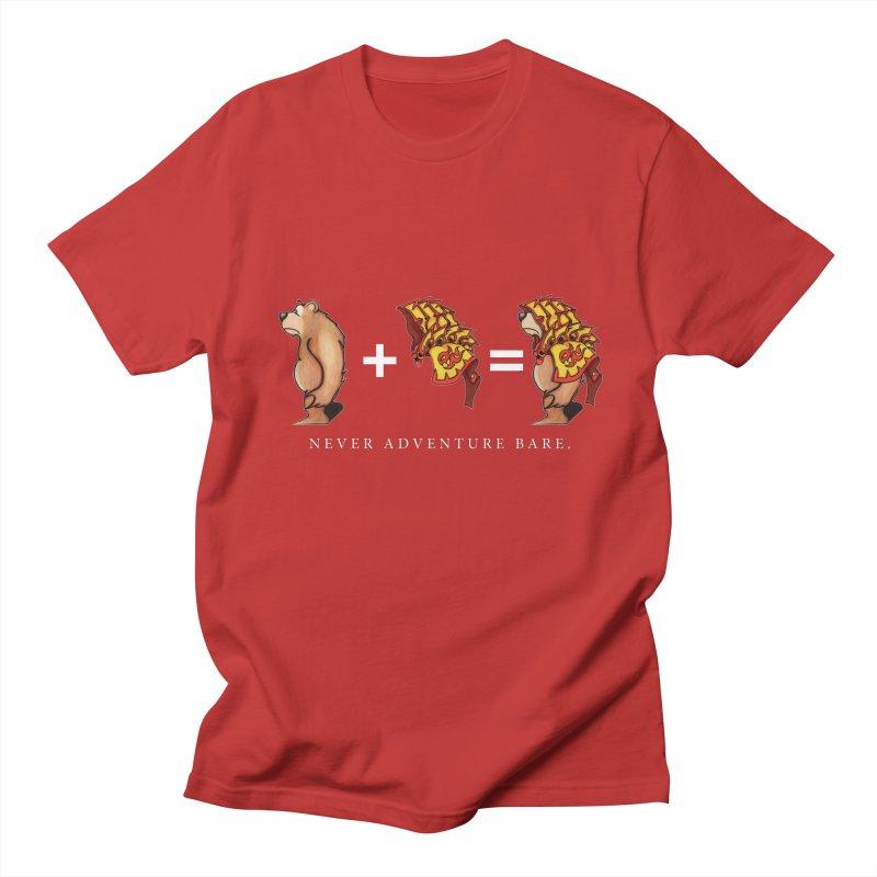 Red Bear Women's Regular Unisex T-Shirt by Norman Wilkerson Designs