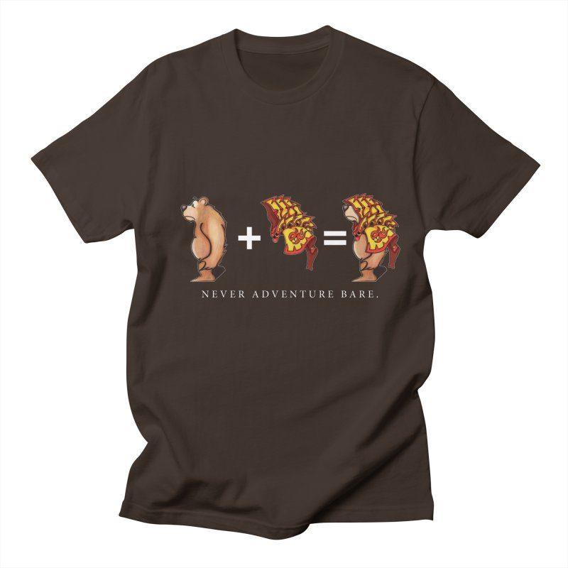 Red Bear Men's T-Shirt by Norman Wilkerson Designs