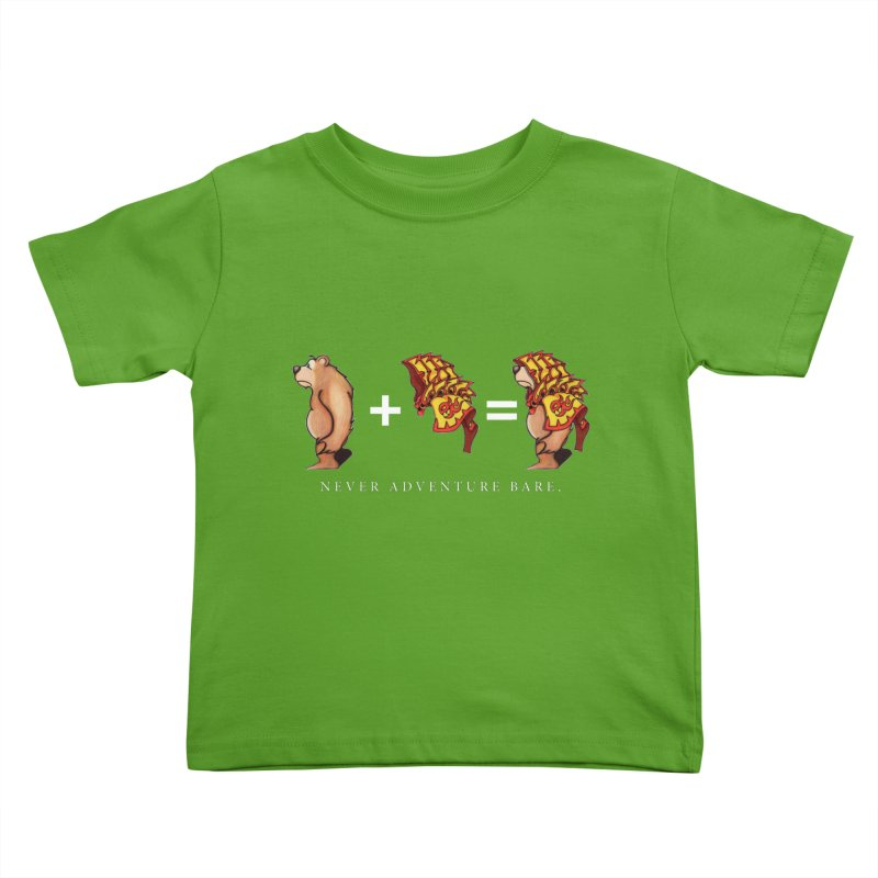 Red Bear Kids Toddler T-Shirt by Norman Wilkerson Designs