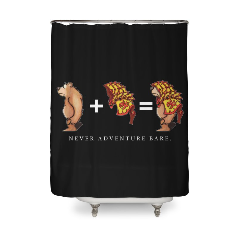 Red Bear Home Shower Curtain by Norman Wilkerson Designs