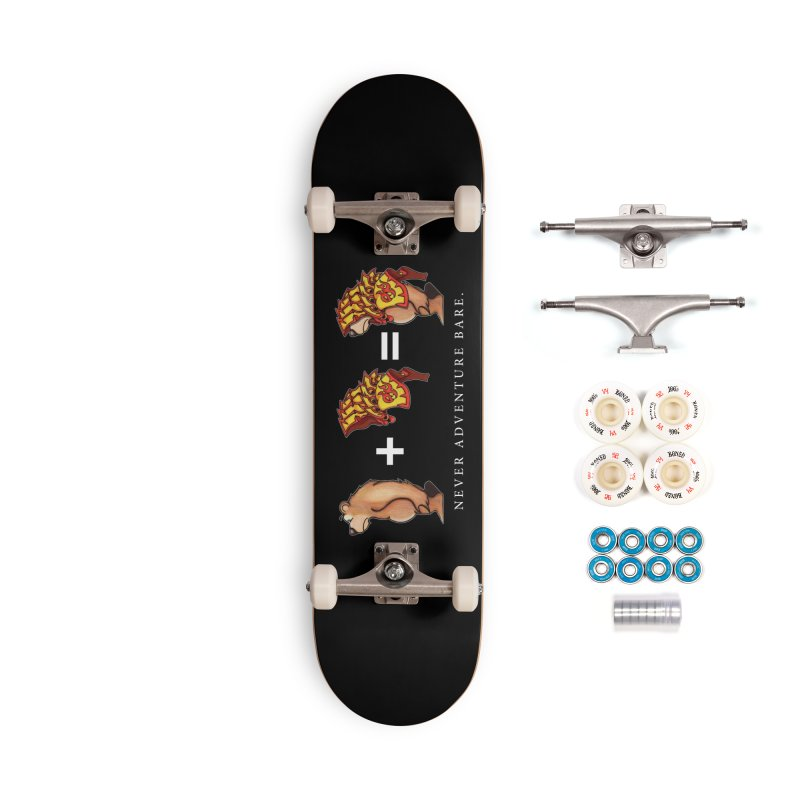Red Bear Accessories Complete - Premium Skateboard by Norman Wilkerson Designs