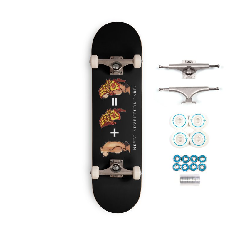 Red Bear Accessories Complete - Basic Skateboard by Norman Wilkerson Designs