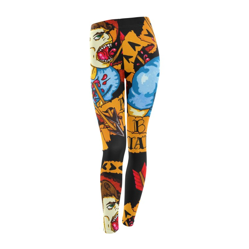 The Code Women's Leggings Bottoms by Norman Wilkerson Designs