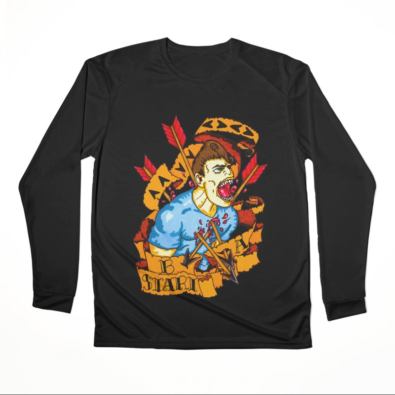The Code Men's Performance Longsleeve T-Shirt by Norman Wilkerson Designs