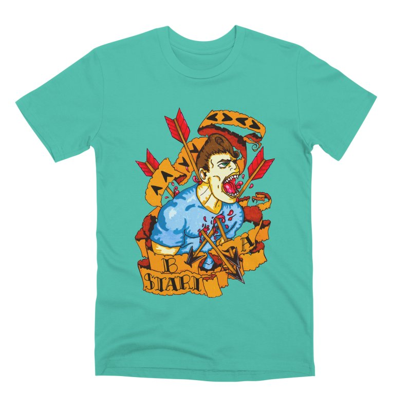 The Code Men's Premium T-Shirt by Norman Wilkerson Designs