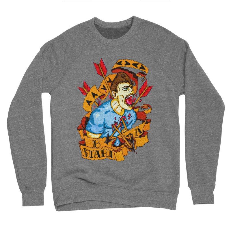 The Code Men's Sponge Fleece Sweatshirt by Norman Wilkerson Designs