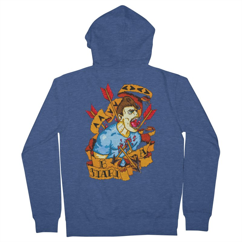 The Code Men's French Terry Zip-Up Hoody by Norman Wilkerson Designs