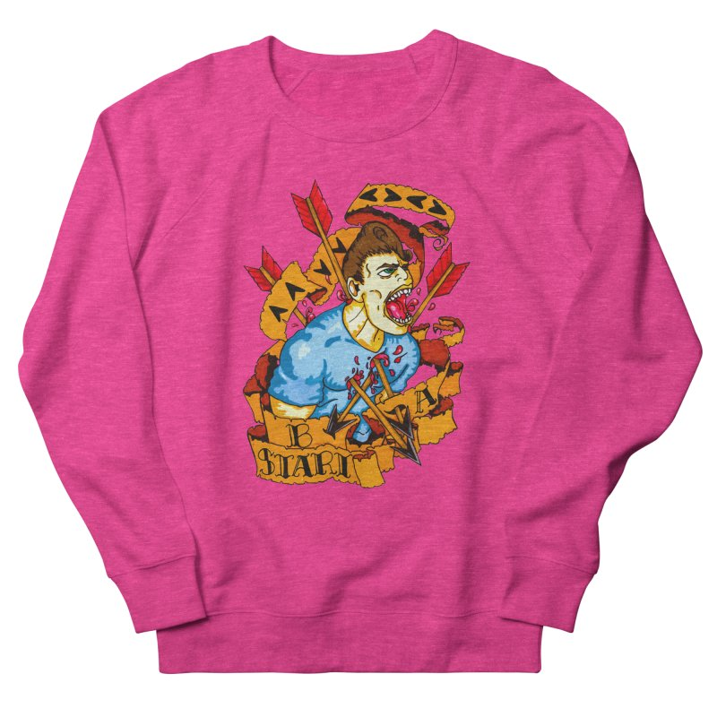 The Code Women's French Terry Sweatshirt by Norman Wilkerson Designs