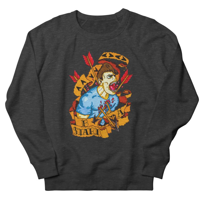 The Code Men's French Terry Sweatshirt by Norman Wilkerson Designs