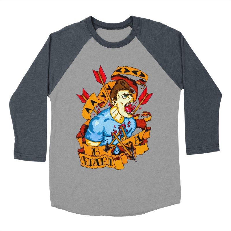 The Code Women's Baseball Triblend Longsleeve T-Shirt by Norman Wilkerson Designs