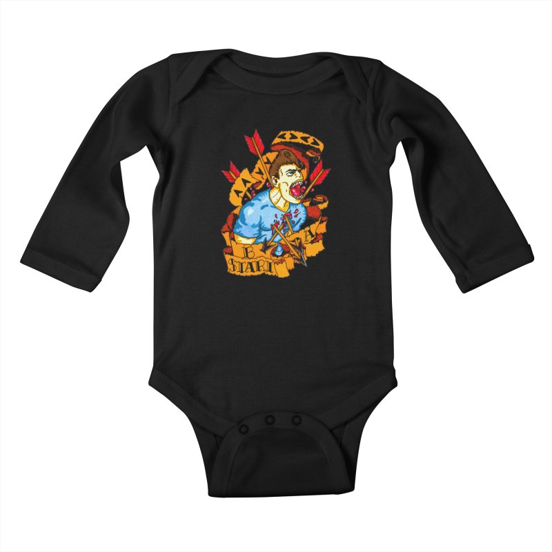 The Code Kids Baby Longsleeve Bodysuit by Norman Wilkerson Designs