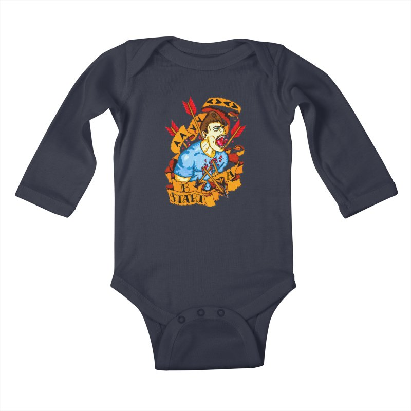 The Code Kids Baby Longsleeve Bodysuit by Norman Wilkerson Designs