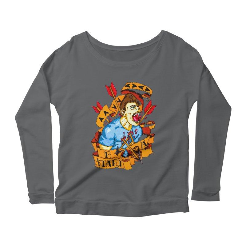 The Code Women's Scoop Neck Longsleeve T-Shirt by Norman Wilkerson Designs