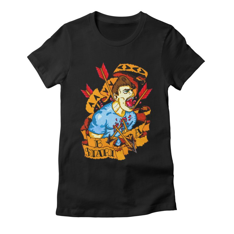 The Code Women's Fitted T-Shirt by Norman Wilkerson Designs