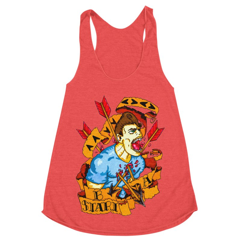 The Code Women's Racerback Triblend Tank by Norman Wilkerson Designs