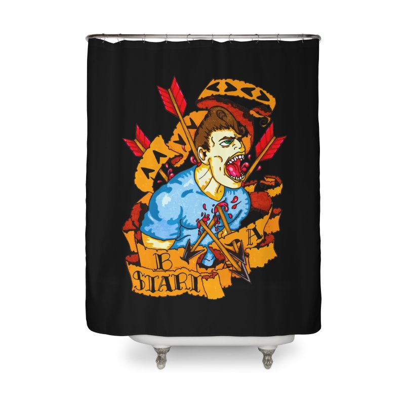 The Code Home Shower Curtain by Norman Wilkerson Designs