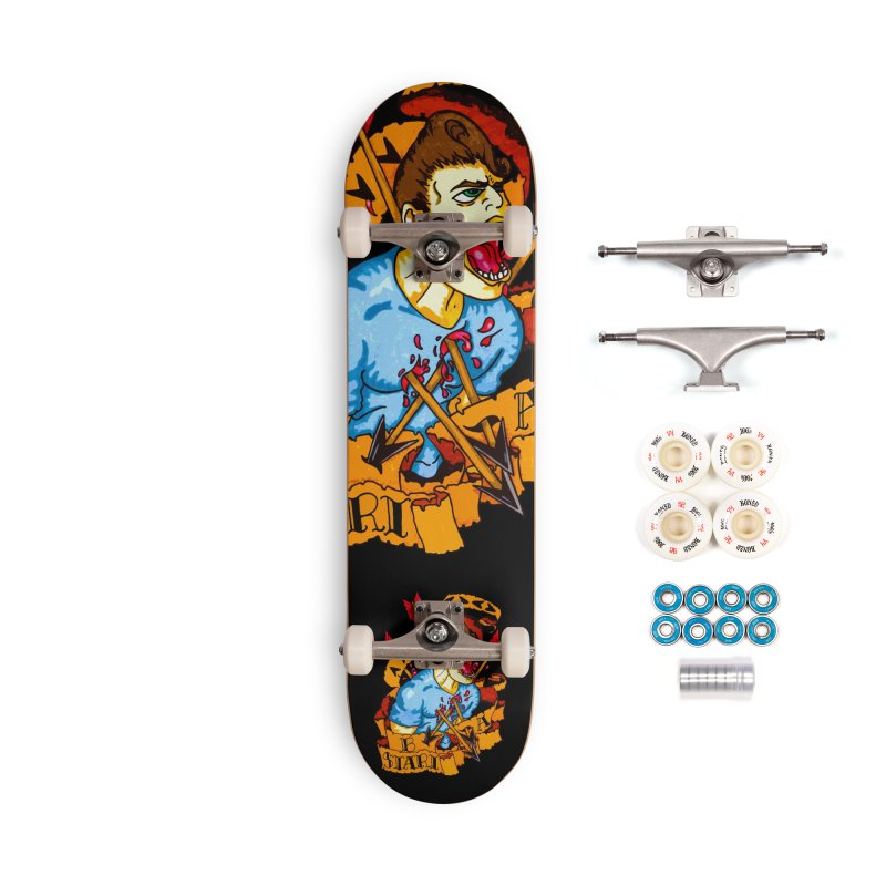The Code Accessories Complete - Premium Skateboard by Norman Wilkerson Designs