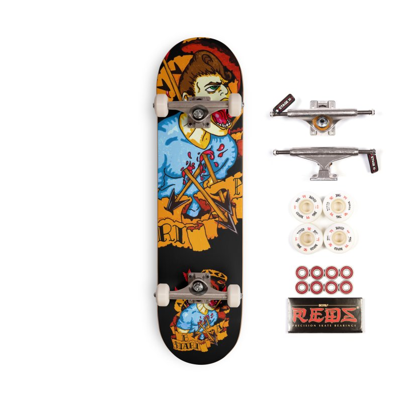 The Code Accessories Complete - Pro Skateboard by Norman Wilkerson Designs