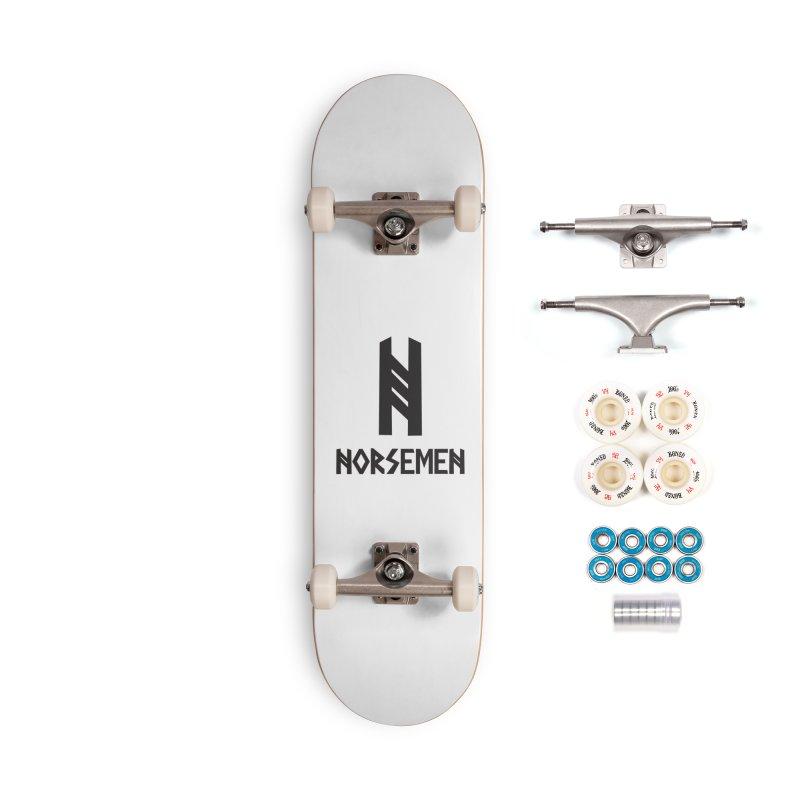 Norsemen w/logo Black Accessories Skateboard by Official Norsemen Shop