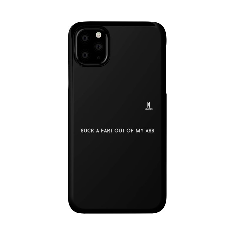 Suck a fart - white Accessories Phone Case by Official Norsemen Shop