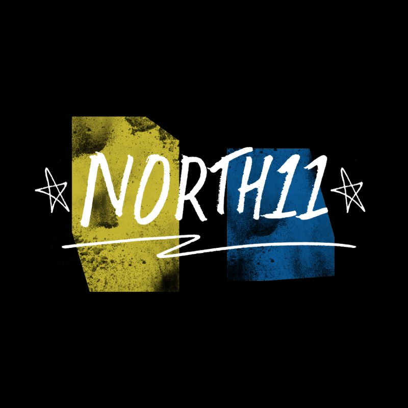 Yellow & Blue Men's T-Shirt by North11's Shop