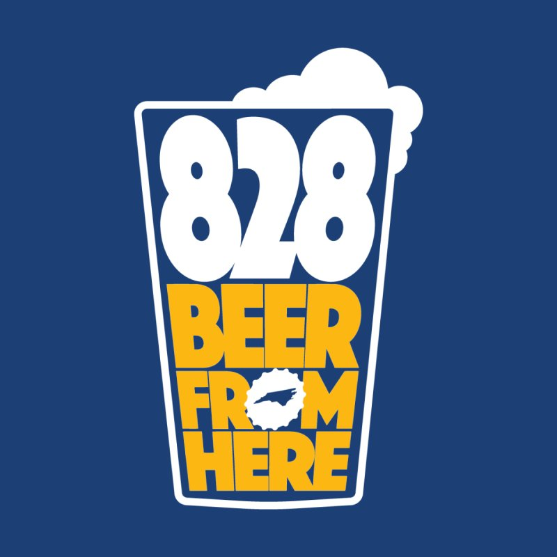 828 Beer From Here Accessories Sticker by North Craftolina