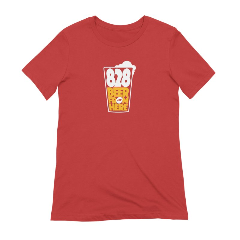 828 Beer From Here Women's Extra Soft T-Shirt by North Craftolina