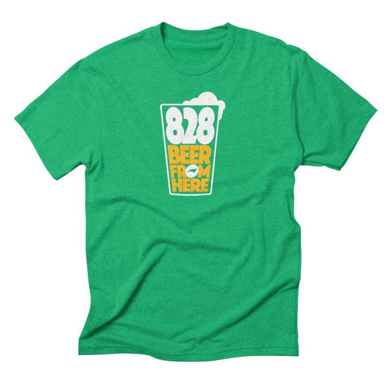 828 Beer From Here Men's T-Shirt by North Craftolina