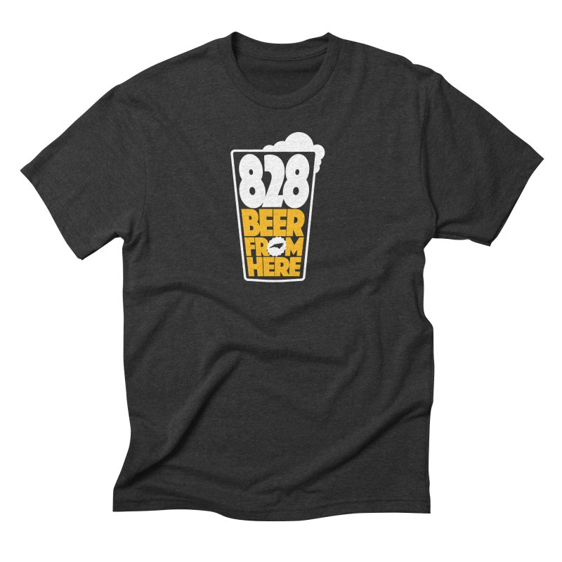 828 Beer From Here Men's Triblend T-Shirt by North Craftolina
