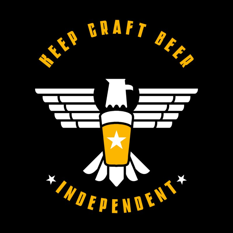 Keep Craft Beer Independent Men's T-Shirt by North Craftolina