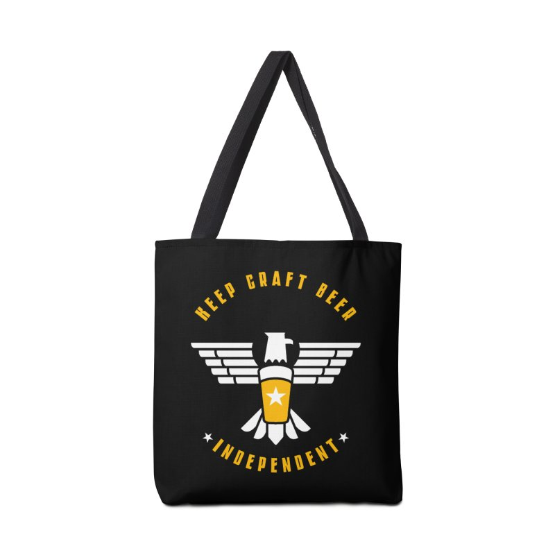 Keep Craft Beer Independent Accessories Tote Bag Bag by North Craftolina