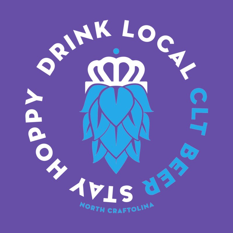 Drink Local CLT Beer Men's Tank by North Craftolina