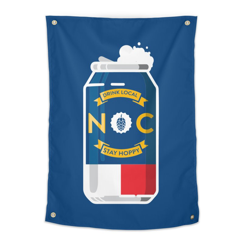 Drink Local Can Home Tapestry by North Craftolina