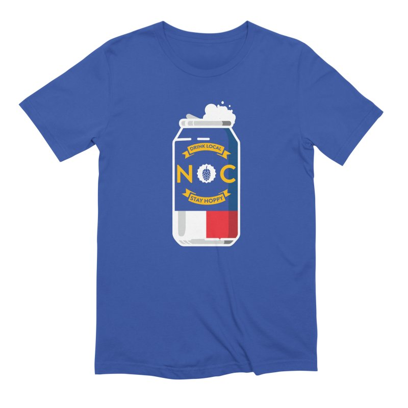 Drink Local Can Men's T-Shirt by North Craftolina