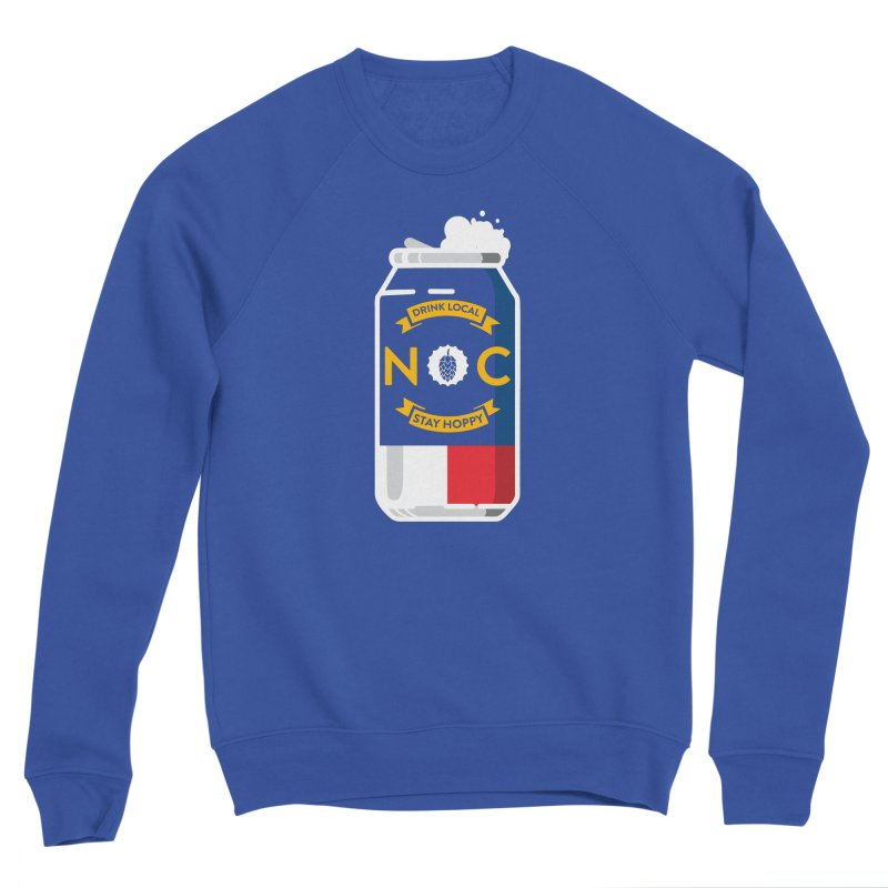 Drink Local Can Men's Sponge Fleece Sweatshirt by North Craftolina