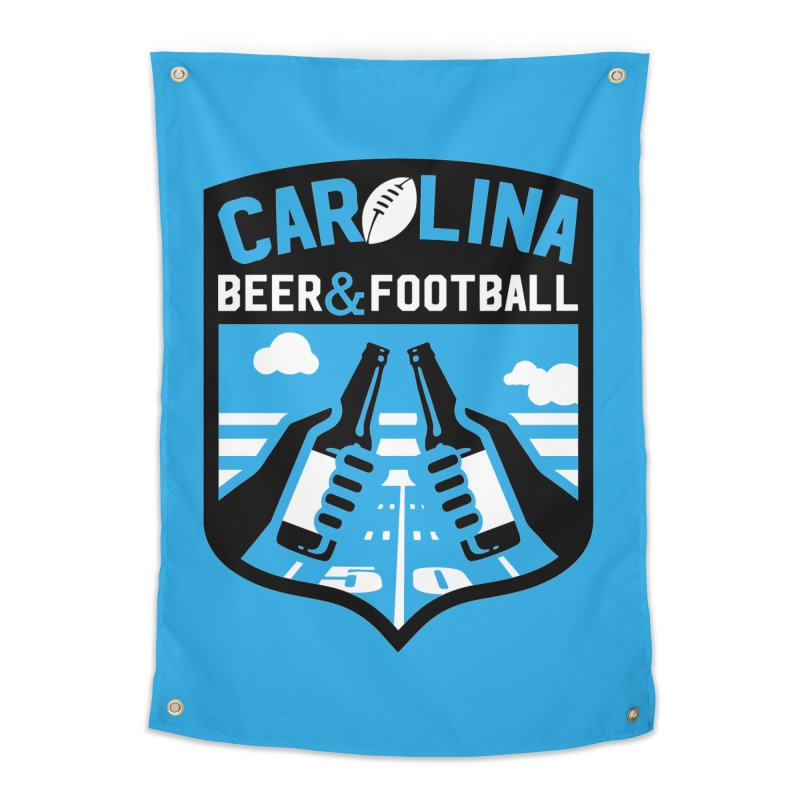 Carolina Beer And Football Home Tapestry by North Craftolina