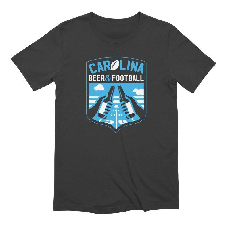 Carolina Beer And Football Men's T-Shirt by North Craftolina