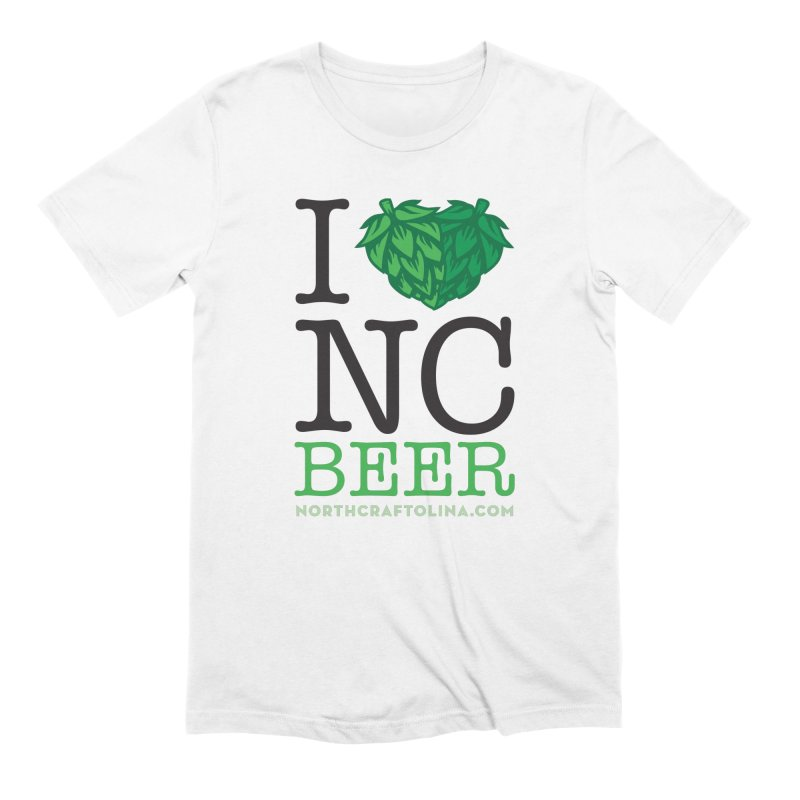 I Hops NC Beer Men's Extra Soft T-Shirt by North Craftolina