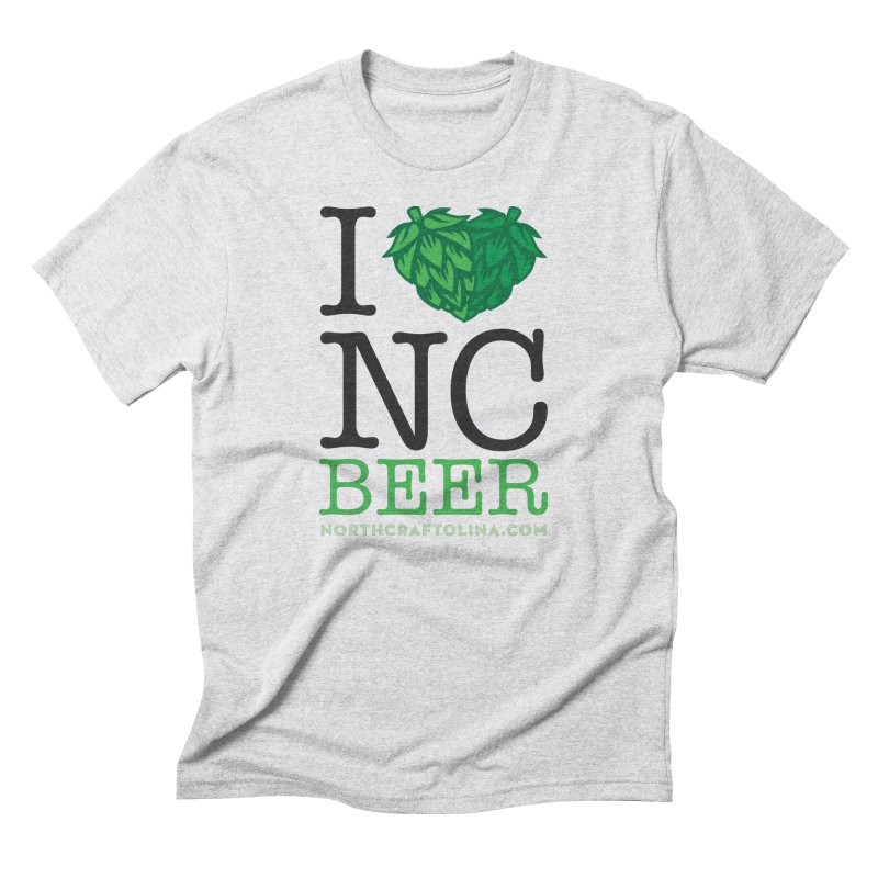 I Hops NC Beer Men's Triblend T-Shirt by North Craftolina