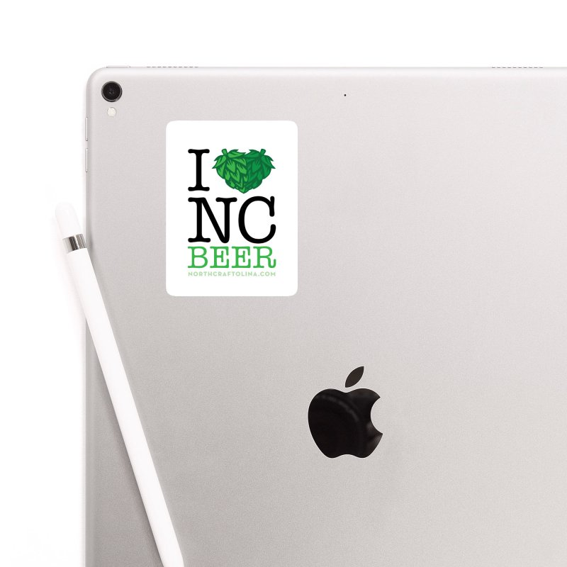 I Hops NC Beer Accessories Sticker by North Craftolina
