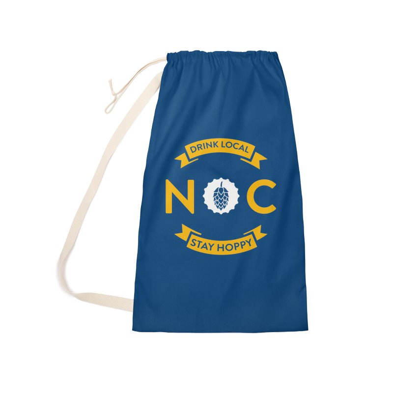 NC Drink Local Stay Hoppy Accessories Laundry Bag Bag by North Craftolina