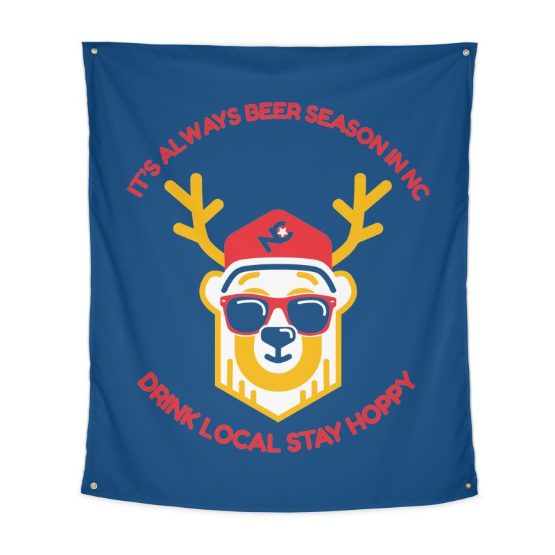 It's Always Beer Season Home Tapestry by North Craftolina