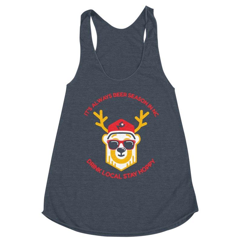 It's Always Beer Season Women's Racerback Triblend Tank by North Craftolina