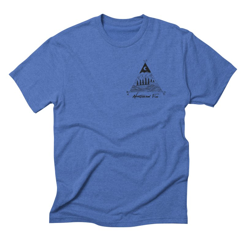 River Wave Men's Triblend T-Shirt by northernfin's Artist Shop