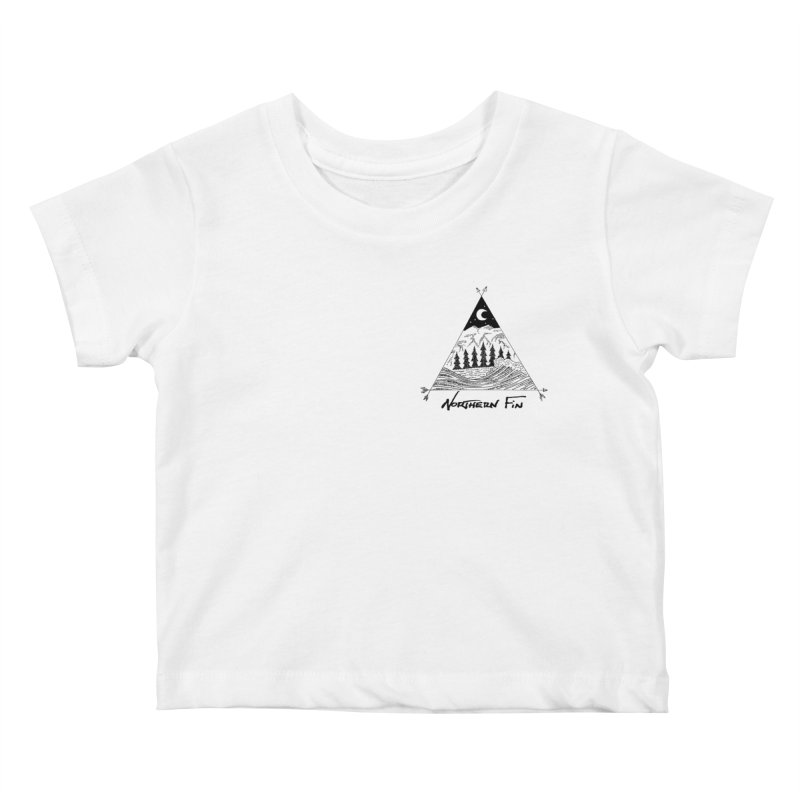 River Wave Kids Baby T-Shirt by northernfin's Artist Shop