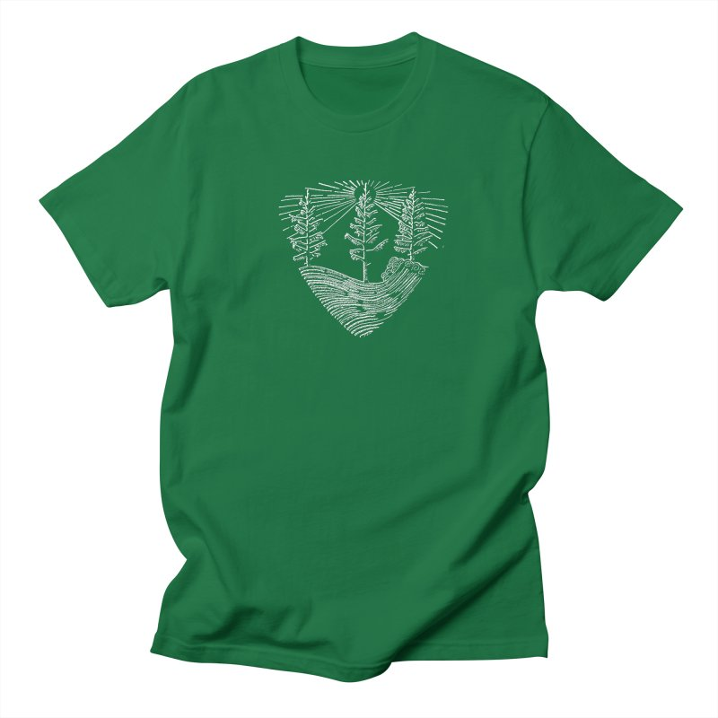Tree Wave Men's T-Shirt by northernfin's Artist Shop