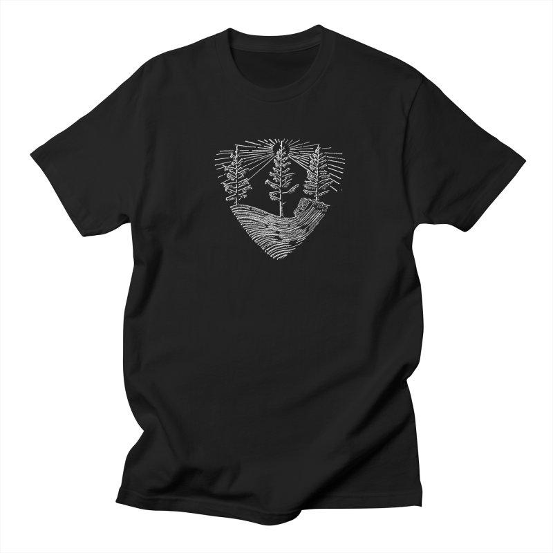 Tree Wave Men's Regular T-Shirt by northernfin's Artist Shop