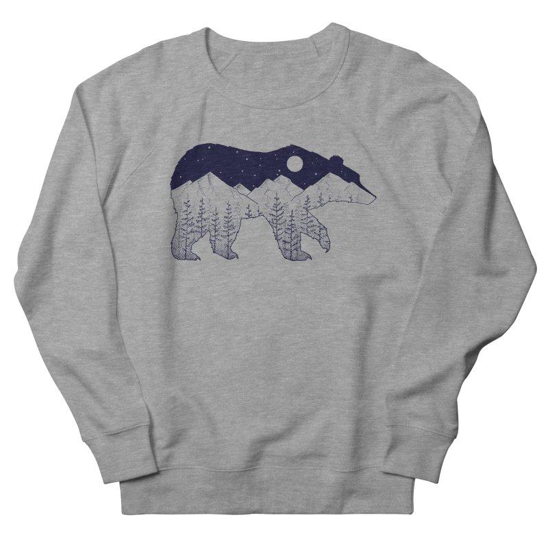 Ursa Major Men's French Terry Sweatshirt by northernfin's Artist Shop